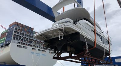Shipping Galeon Yacht to China